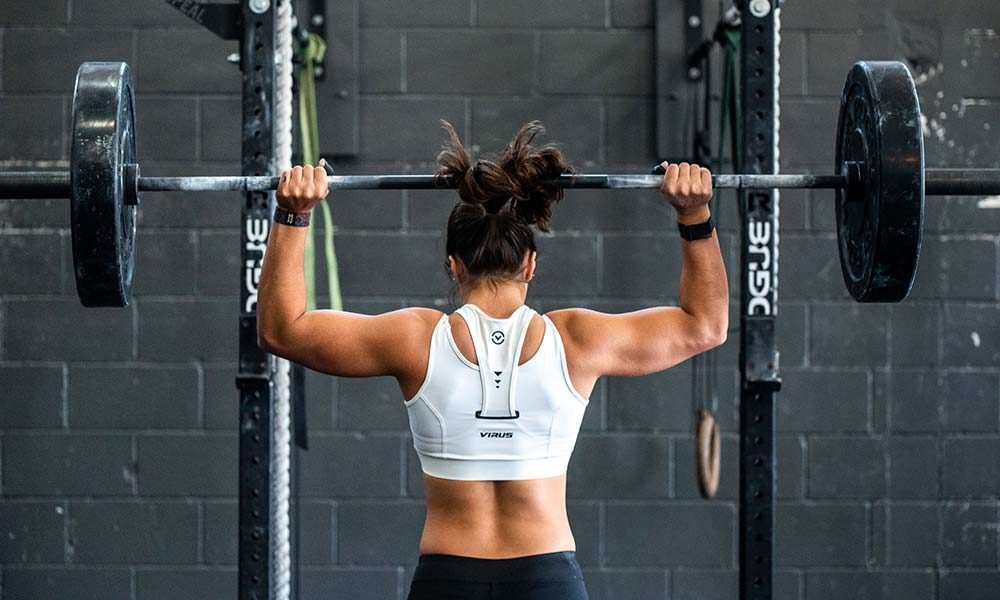 starke Marke - Gewichtheberin