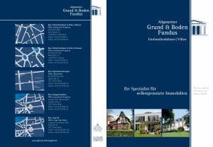 Broschüre Villen und Häuser 1