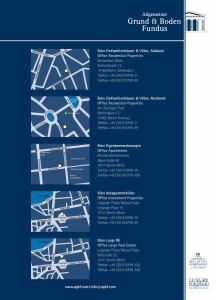 Broschüre Eigentumswohnungen Rückseite