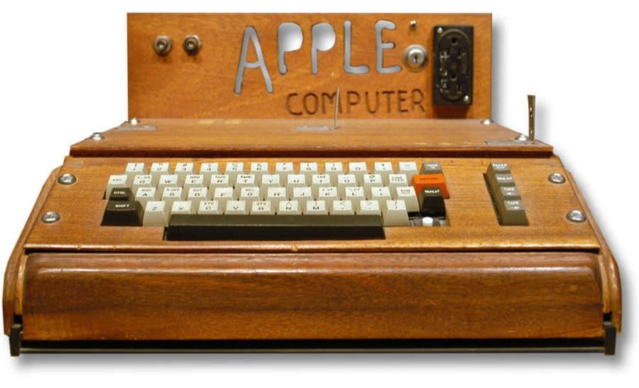 Startup – der erste Apple Computer