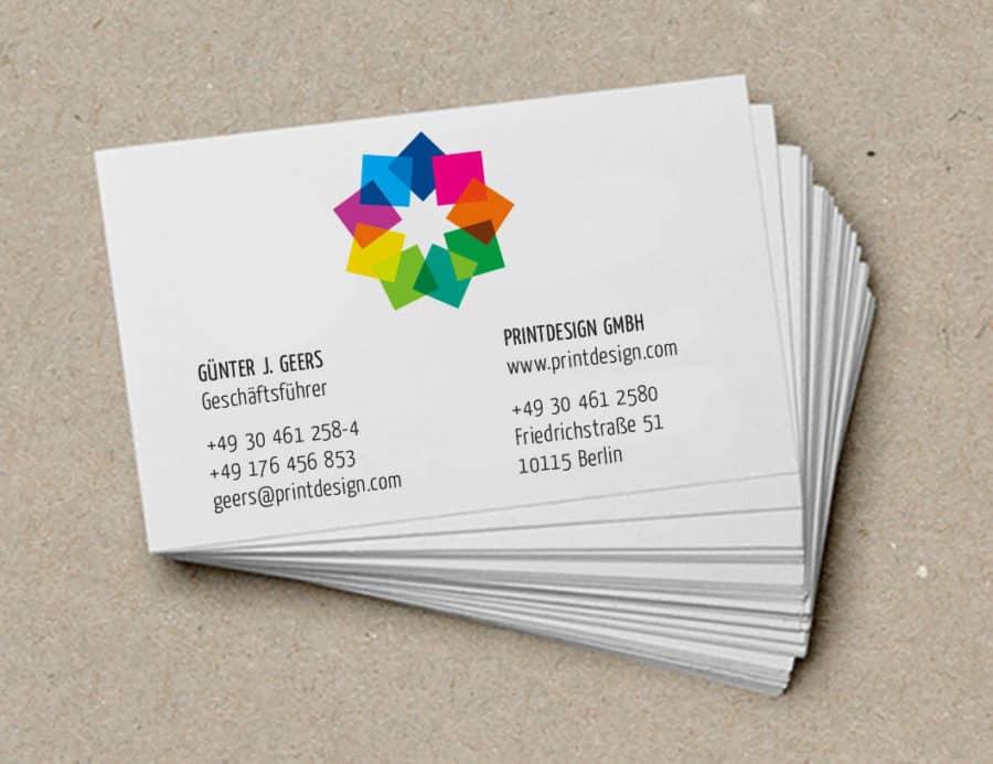 Grafikdesign Businesscard