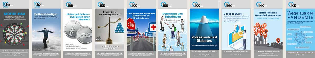 ikk Plattform Gesundheit Lücken-Design