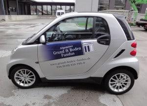 AGBF Autobeschriftung am smart