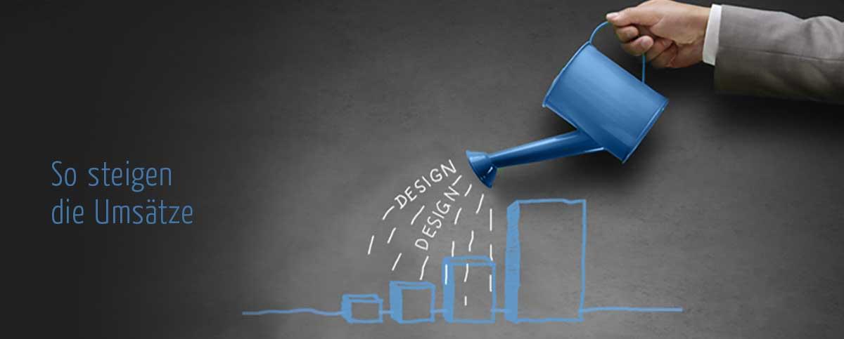 Grafikdesign Lücken-Design – so steigen die Umsätze