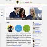 die Homepage (Link zur Seite)